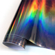 Factory price for super high quality holographic rainbow film foil for car wrap vinyl from China