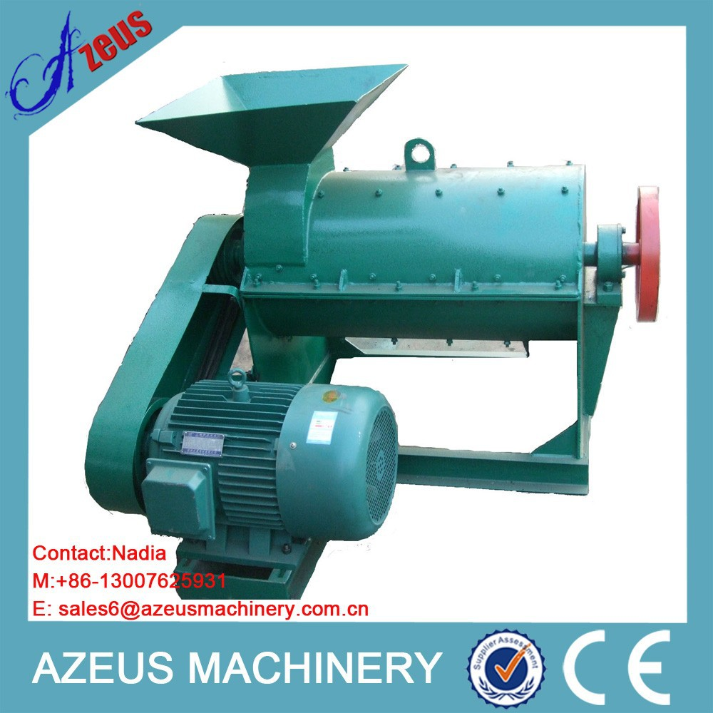 Wet material manure small crushing machine of fertilizer