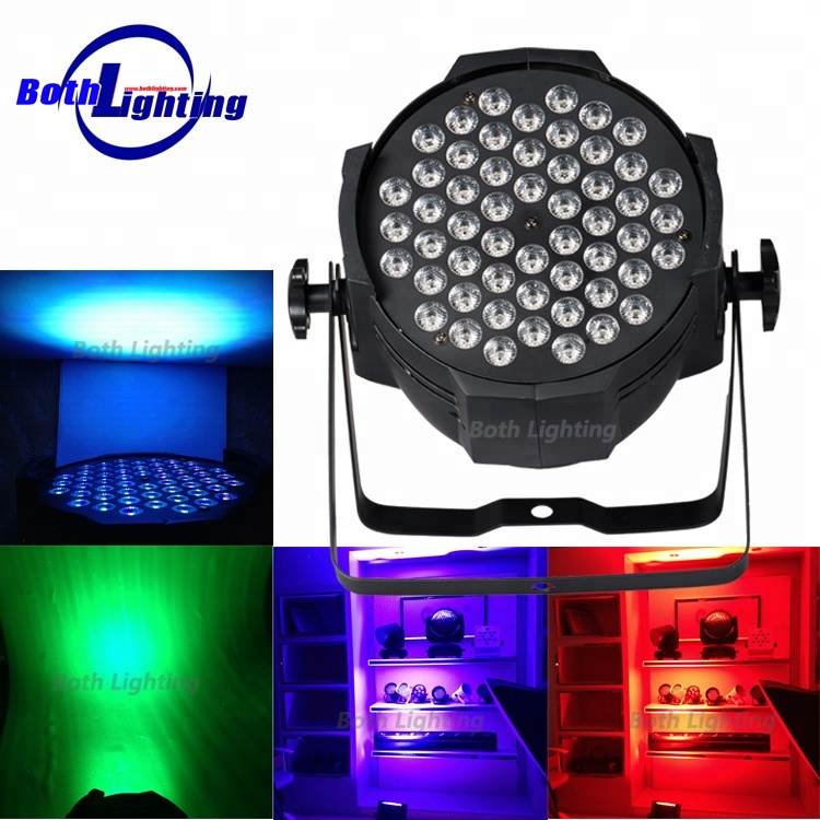 Proiettore di colore HA CONDOTTO uplights 54*3 w 3in1 UV RGBW wireless dmx led par can luce