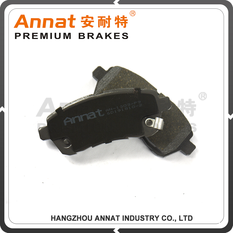ceramic disc brake pad set include installation hardware for JEEP 2500 auto parts