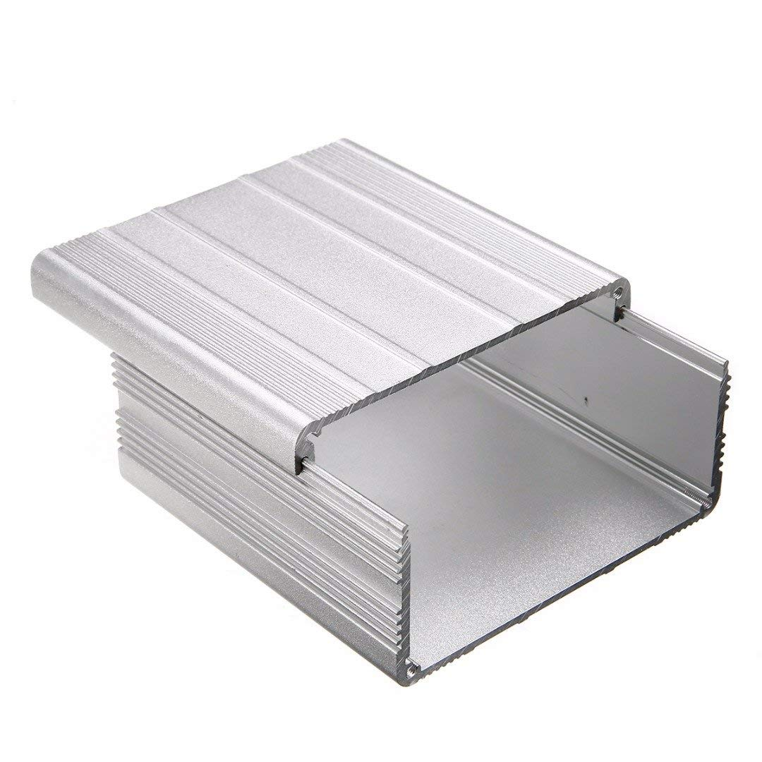 WILLAI Mayitr Extruded Aluminum Enclosure Case DIY Electronic Project PCB Instrument Box DIY 100x100x50mm