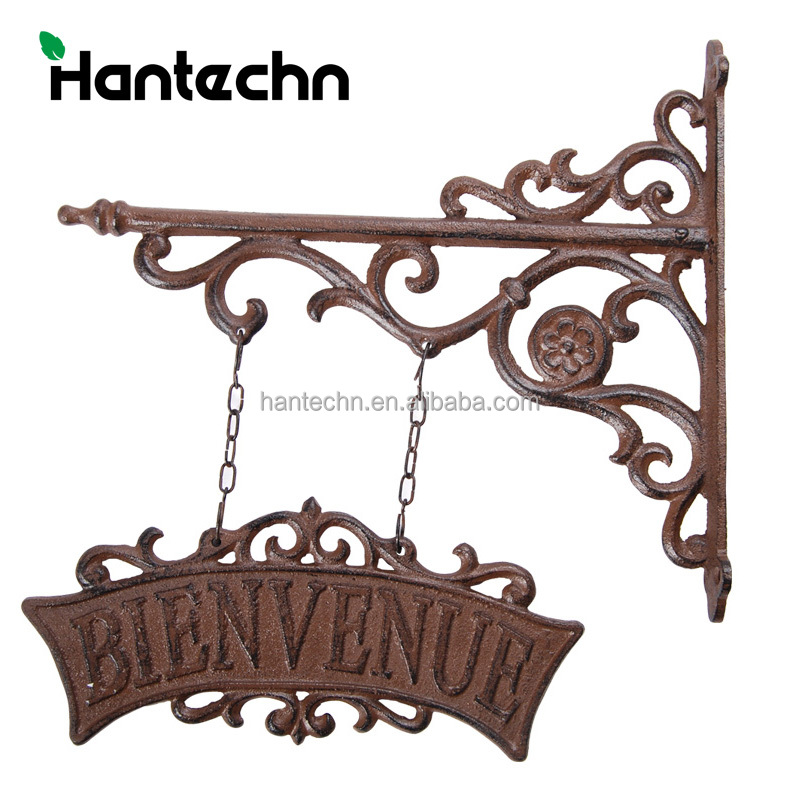 decorate triangle hanging plant iron wall brackets