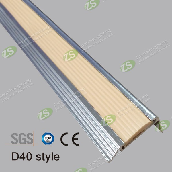 40mm Aluminium Tile Edging Stair Nosing Lowes Stair Edge Protection