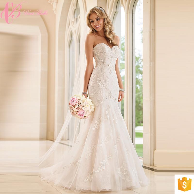 Finden Sie Hohe Qualität Brautkleider Für Fette Frau Hersteller und ...