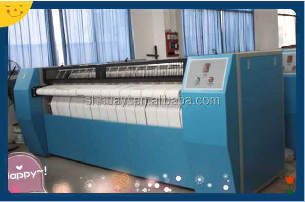 industrial steam drying machine and ironing machine(laundry flatwork)