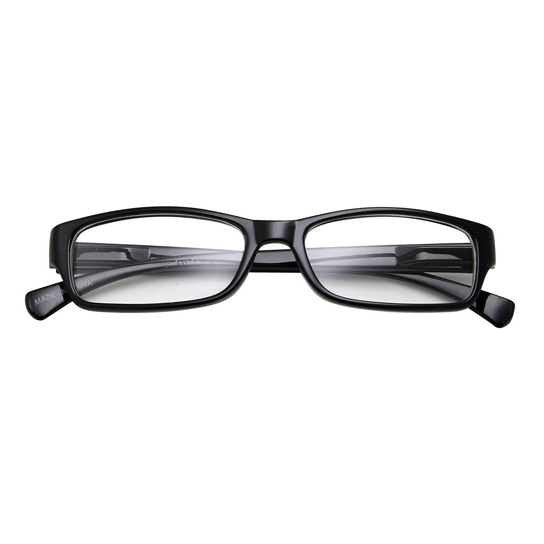 8deda0a553 Kids Smart Looks Eye Glasses Rectangle Nerd Children s Clear Lens (Age ...