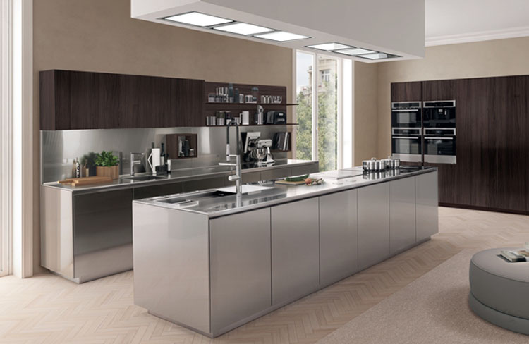 Modern Durable Kitchen Cabinet Stainless Steel Units