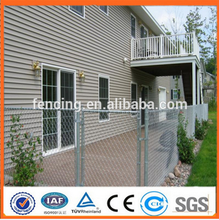 2016 hot sale China factory supply low prices chian link fence/Used chain link fence for sale