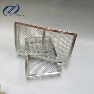 304 316 316L Stainless Steel Wire Mesh Filter Basket