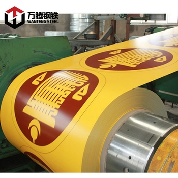 Customized Printed Design Color Coated Galvanized PPGI/PPGL Steel Coil