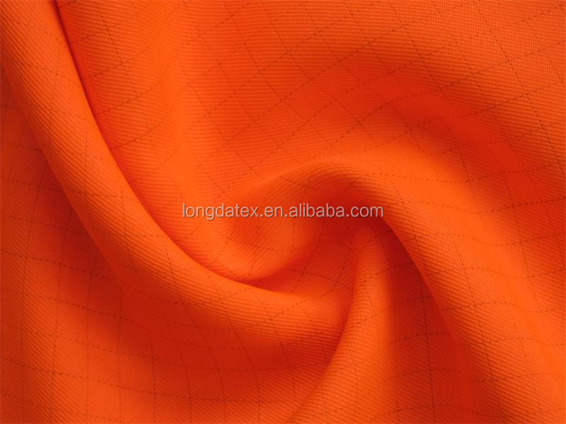 Hot Sale 0.7*0.7 ripstop fabric, 2/2 twill 100 polyester gabardine fabric for sale