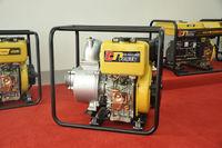 Portable 4-stroke air cood hand start diesel water pump 3 inch