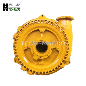 Centrifugal horizontal sand and gravel suction bilge pump for gold mining pump boat