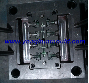 Manufacturing PPR green pipe clamp mould