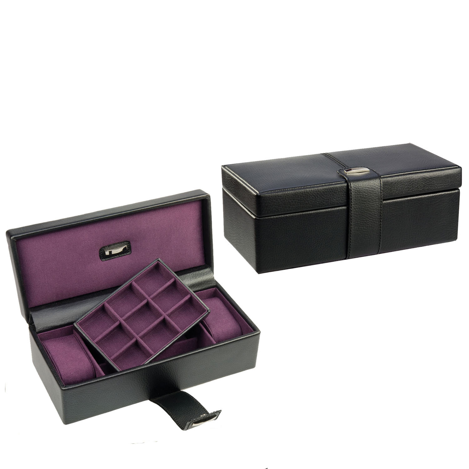 Wholesale Delicate Customized Watch Box with Collection Cufflink Box