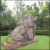 White Outdoor Life-Sized Marble Italy Stone Lion