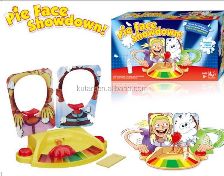 New rocket games party game pie face for sale