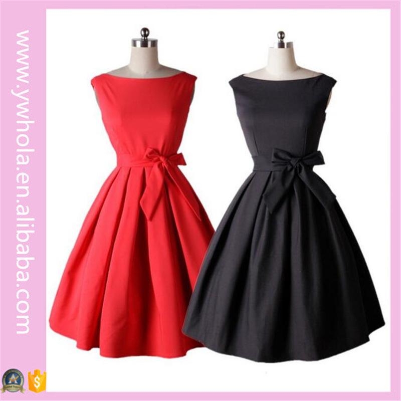 3acdaf28d7 Rojo y negro vestidos de novia para las mujeres niñas vestidos cocktail  party