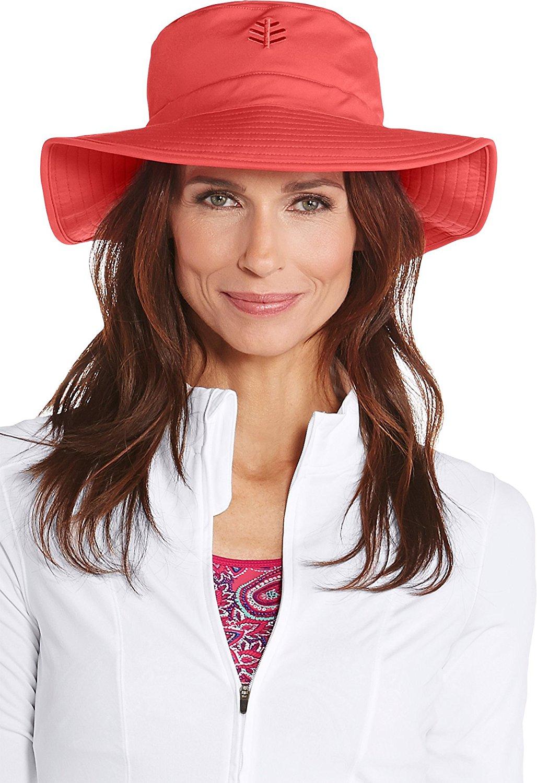 5e92594aa71ab Coolibar UPF 50+ Women s Chlorine Resistant Bucket Hat - Sun Protective