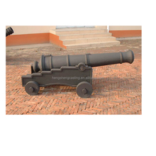 Outdoor Decorative Cast Iron Cannon