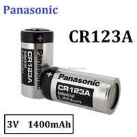 Industrial 3V CR123A CR17345 1400mAh Lithium battery for Security Detector
