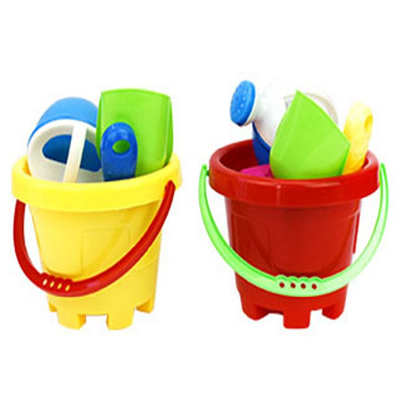 Popular Sale Plastic Beach Bucket and Sand Beach Toy Set For Kids