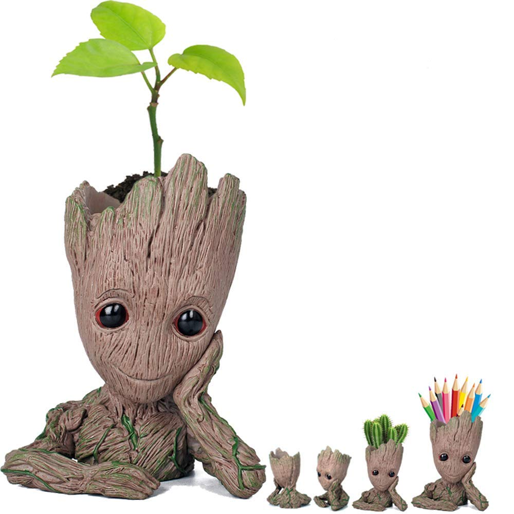 Get Quotations  C2 B7 Prime Sale Day Deals Week Amazon 2018 Creative Groot Planter Pot Guardians Of The Galaxy