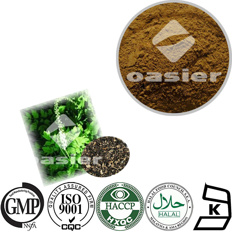 Black Cohosh Root Extract Powder 2.5% Triterpene Glycosides HPLC