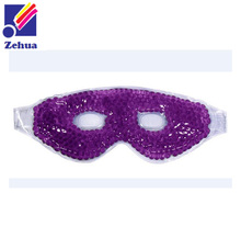 gel beads ice cooling eye mask, reusable eye mask, custom eye mask