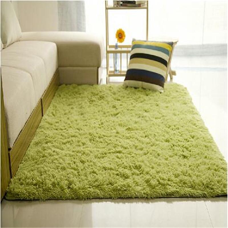 Plush Rug Floor: 160x230cm 14 Color Long Plush Shaggy Soft Carpet Area Rug