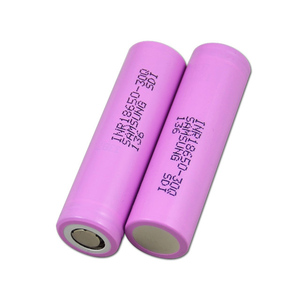 New arrival 18650 li ion battery 3000mah great power vape battery 18650 battery cell for ebike