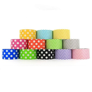 DIY Polka dot styles heavy duty duct tape Masking tape decorate party labeling