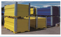 Stackable above ground square oil/fuel/petrol/ storage tank