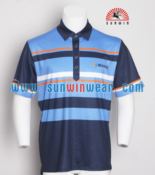 Professional Manufacturer Of Custom Polyester Sublimated Polo Shirt