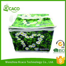 High quality custom polyester PP non woven thermal frozen food lunch insulated cooler bag