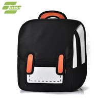 backpack for woman travel laptop bag collage student school bag black grey pink green