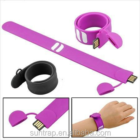 Silicon bracelet hand band Usb Flash Drive best for promotional