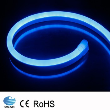 120v Pvc Blue Cuttable Outdoor Led Neon Rope Light