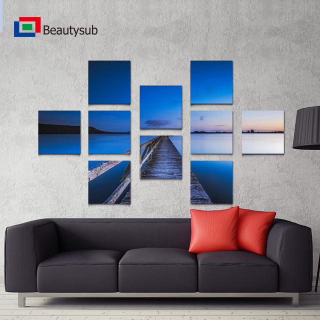 HD photo panels aluminium