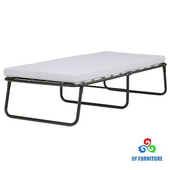 Sleep Master Traveler Elite Metal Steel Frame Folding Guest Bed With