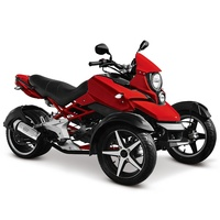 2019 Popular 200cc Gasoline Tricycle 3 Wheel Motorcycle