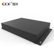 GOF-G01-256x75x255mm aluminium extruded project instrument case box extrusions enclosure