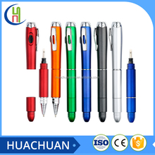 multi function screwdriver ballpoint pen with led light