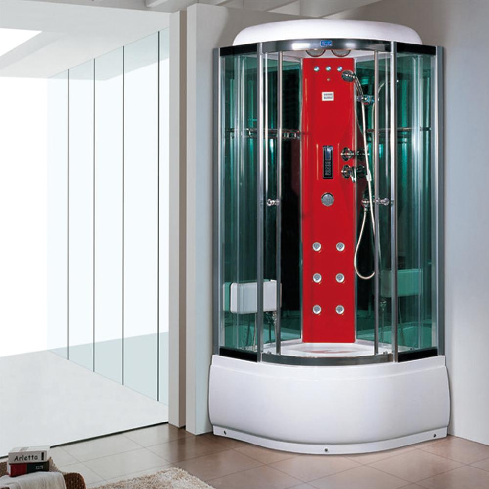 Contemporary Steam Shower Glass Enclosure Image - Luxurious Bathtub ...