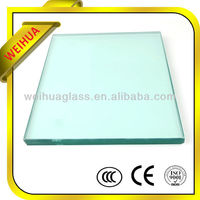 10mm Thick Clear toughened furniture glass For Building With CE Certificate