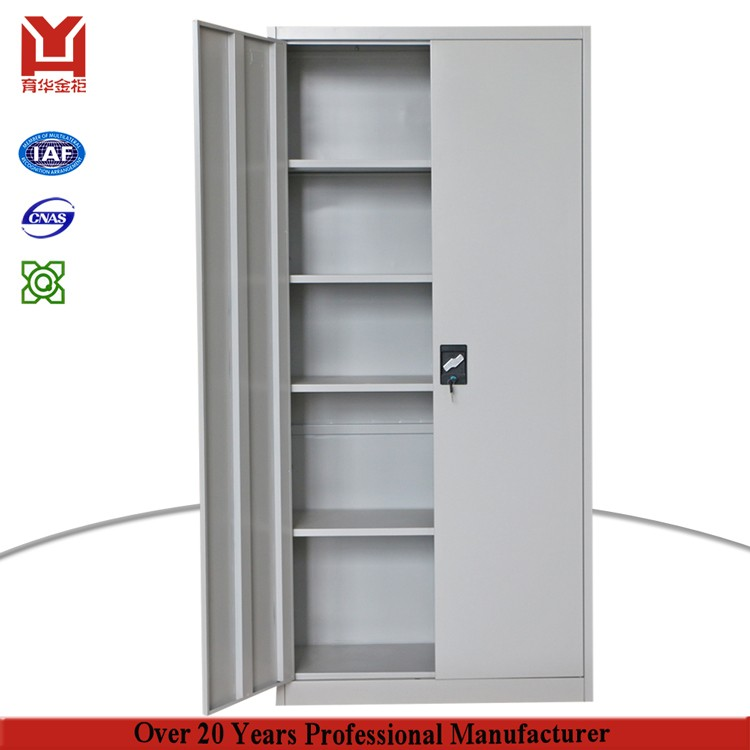 Office Furniture Glass Moving Door Iron Cabinet Metal