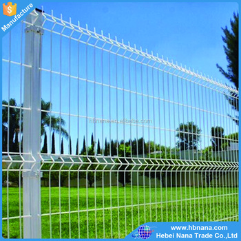 Electic Galvanized Welded Wire Mesh Fence / Factory Price Fence ...