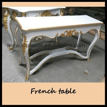 Antoinette Louis Xv Hall Table French Style Luxury Resin Console ...