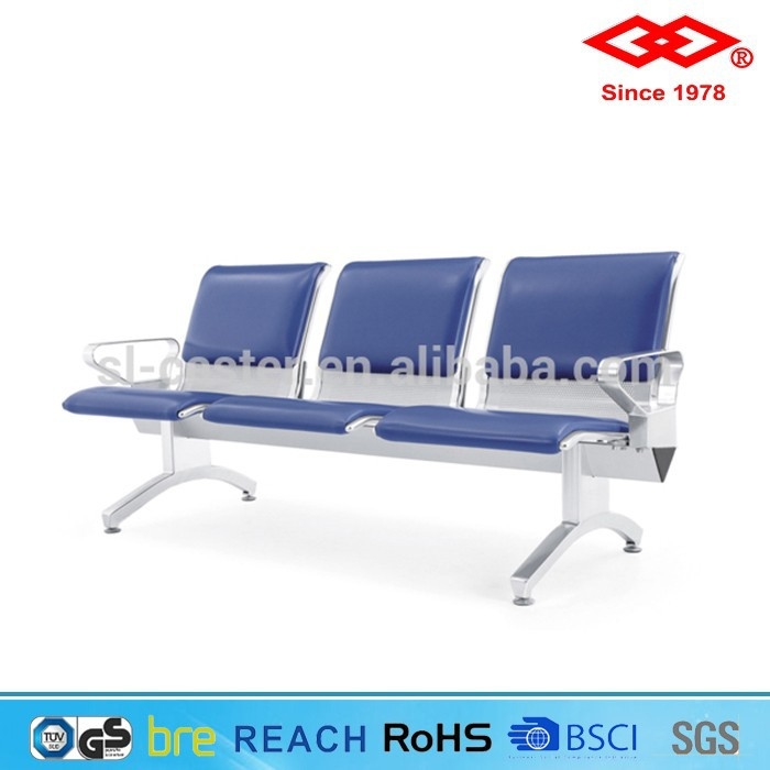 2015 New Design public furnitur emetal airport chair