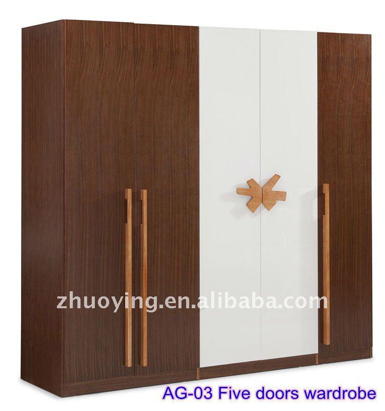 bedroom wooden almirah designs, cheap modern pvc/melamine/MDF cabinet  wardrobe, walk